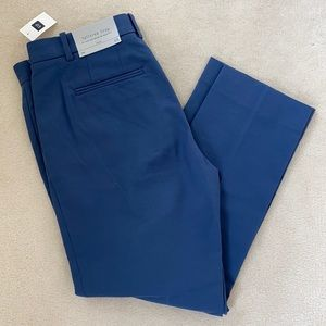 Gap Tailored Crop pants in beautiful blue NWT